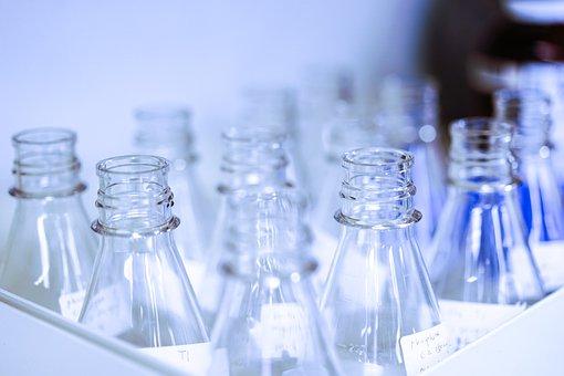 Beaker, Glass Wear, Chemical, Lab, Glass, Science
