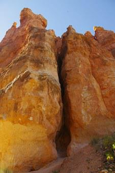 Bryce, Canyon, Rock, Formation, Cliff, National, Park
