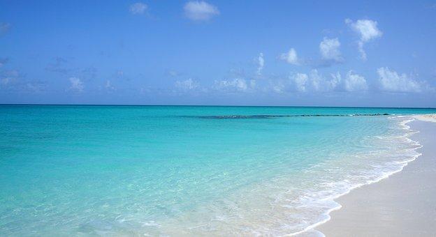Beach, Turks And Caicos, Travel, Caribbean