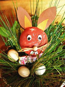 Easter Bunny, Easter Decor, Creative, Covered