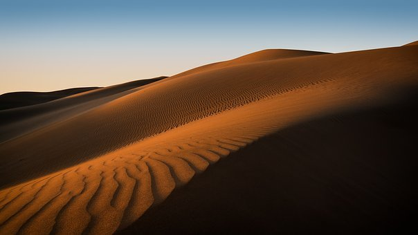 Adventure, Barren, Dawn, Desert, Dry, Dune, Hill, Hot