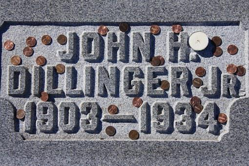 Headstone, Criminal, Bank Robber, Famous, Grave