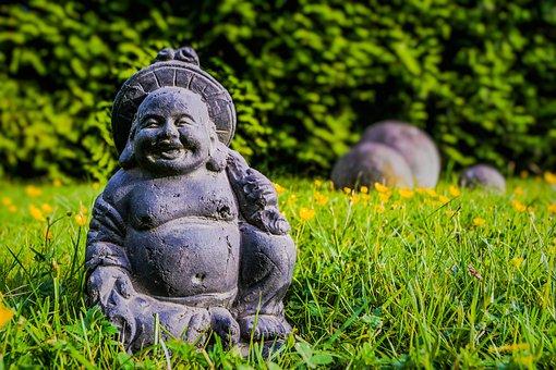 Buddha Focus, Buddha, Feng Shui, Garden, Zen, Statue