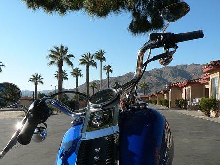 Harley Davidson, Usa South - West, Joshuha Tree