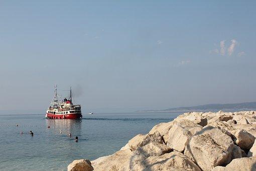 Baska Voda, Croatia, Holidays, Summer, Beach, Holiday