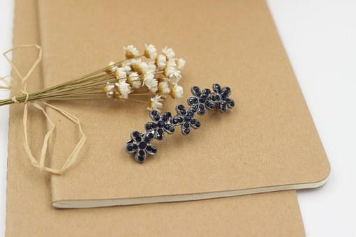 Jewelry, The First Flower, Hair Clips