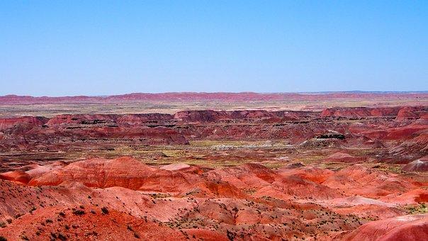 Painted Desert, Arizona, Landscape, Southwest