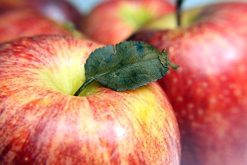 Apple, Fruit, Natural, Health, Food, Dessert, Macro