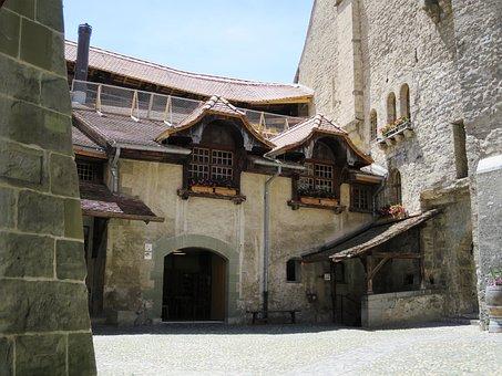 Château Chillon, Montreux, Switzerland, Lake Geneva
