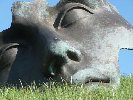 Image, Art, Nature, Sculpture, Face, Netherlands