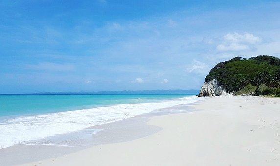 Haiti, Caribbean, Beach, White Sand, Landsca, No People