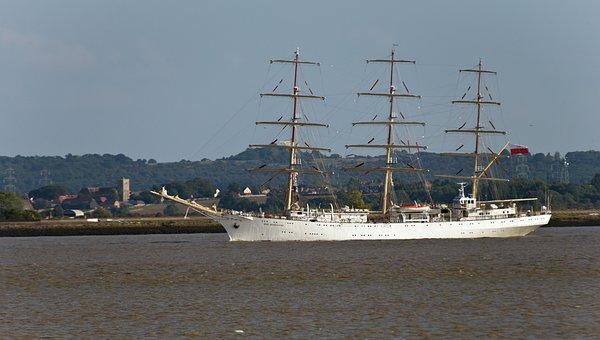 Ship, Polish, Dar Mlodiezy, Sail Training