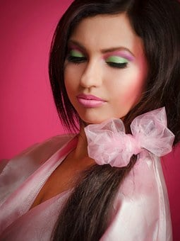 Barbie Girl, Pink, Brunette, Woman, Barbie, Portrait