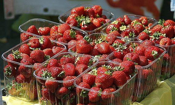 Strawberries, Fruit, Mature, Healthy, Eating, Food