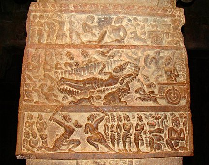 Pattadakal, Unesco, Wall Carvings, Pattadakal Monuments