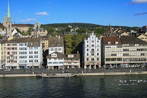 Zurich, Swiss Confederation, City, Houses
