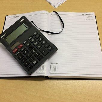Calculator, Work, Accountancy, Accounting, Business