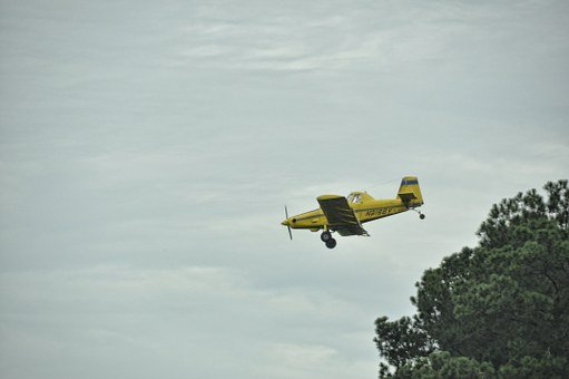 Airplane, Flight, Crop Duster, Agriculture, Yellow