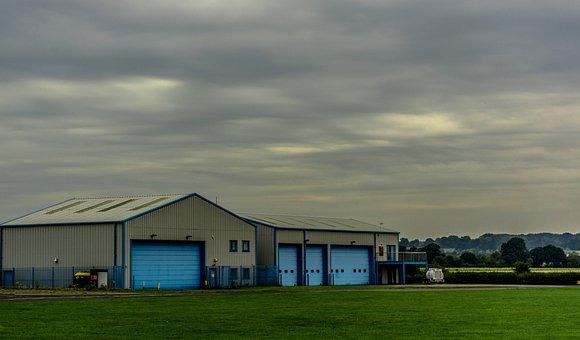 Building, Aviation, Aircraft, Travel, Airplane, Storage