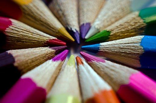 Background, Blue, Brown, Bunch, Color, Colorful, Colour