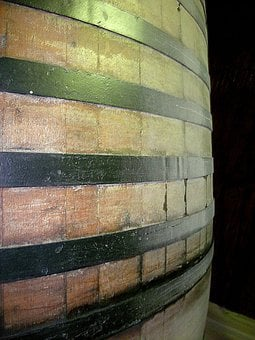 Barrel, Oak Casket, Wine, Beer, Ale, Cider, Fermenting