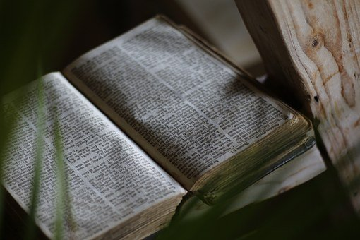Bible, Book, Old, Christian, The Holy Book