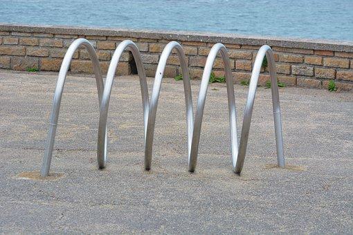 Bikes, Bike Storage, Metal, Aluminium, Reflections