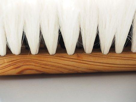 Bristles, Goat Hair Brush, Brush, Clean, Wipe