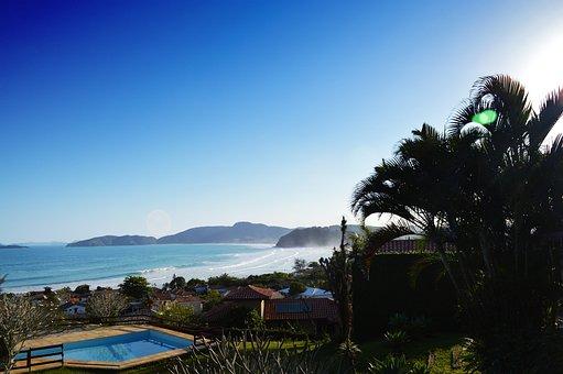 Beach, Búzios, Brazil, Mar, Costa, Sol, Holidays
