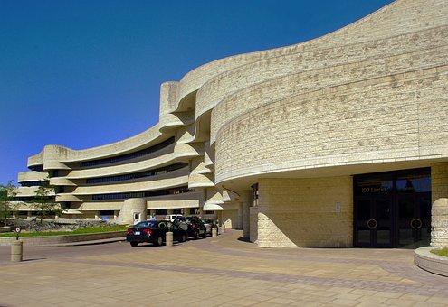 Canada, Ottawa, Museum, Civilisatons, Architecture