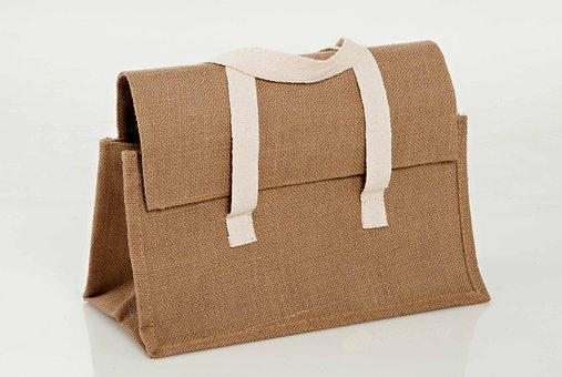 Bag, Burlap, Casket