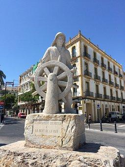 Ibiza, Balearic Islands, Spain, City, Downtown, Port