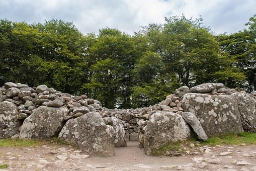 Clava Cairn, Resting Place, Cemetery, Archaeology