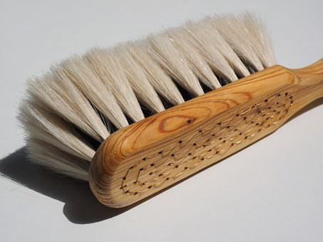 Brush, Goat Hair Brush, Goat Hair, Clean, Wipe