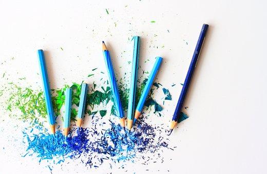 Color Pencil, Drawing, Coloring, Colored Pencils