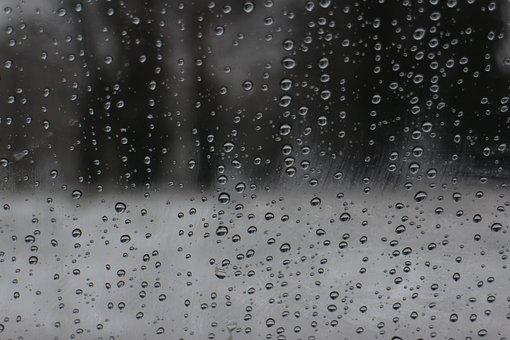 Raindrops, Background, Aqua, Bubble, Crystal, Drop