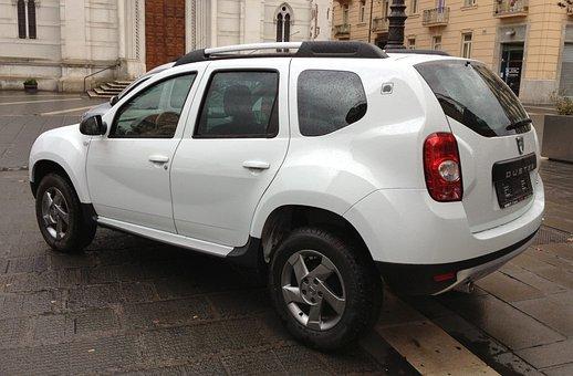 Dacia, Duster, Suv, Car, Automobile, Rear, Modern
