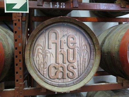 Barrel Of Rum, Distillery, Arehucas, Gran Canaria