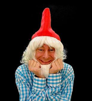 Dwarf, Gnome, Imp, Kobold, Fabric, Eleven, Weihnchtself