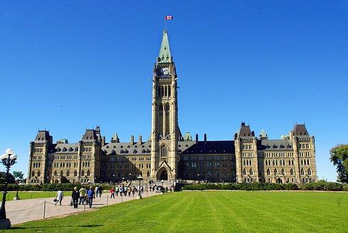 Canada, Ottawa, Parliament, Federal, Landscape