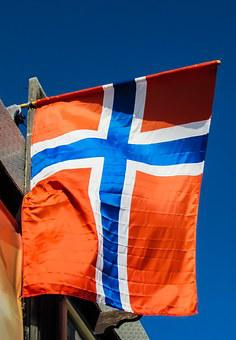 Norway, Flag, Scandinavia, Country, Nation, Europe