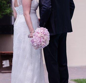 Wedding, Bridal Bouquet, Bouquet, Roses, Flowers, Marry