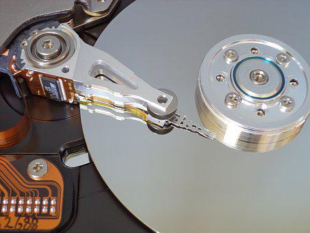 Hard Disk, Storage, Open Hard Drive