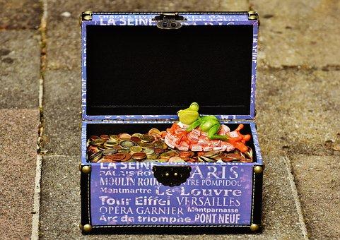 Money Soothes, Sleep, Bunch Of Money, Frog, Figure