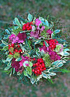 Nature, Autumn Wreath, Door Wreath, Decoration