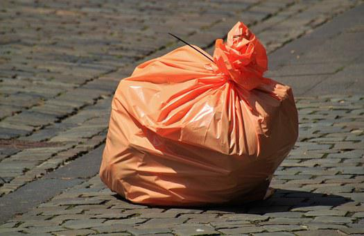 Garbage Bag, Waste, Non Recyclable Waste, Garbage