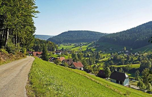 Northern Black Forest, Baiersbronn, Clay Valley, Nature