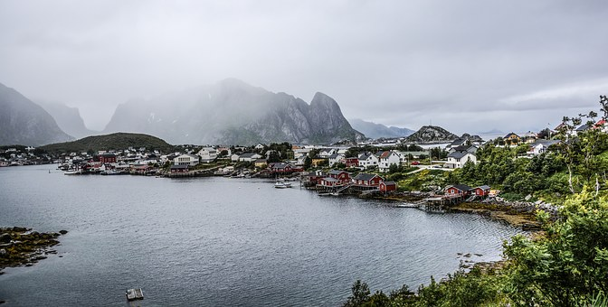 Lofoten, Norway, Islands, Fisherman's Village, Nordic