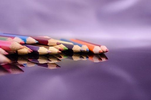 Colour, Color, Colorful, Pencil, Crayon, Pen, Rainbow