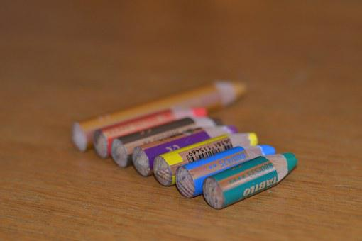 Pen, Red, Blue, Green, Yellow, Brown, Purple, Gold